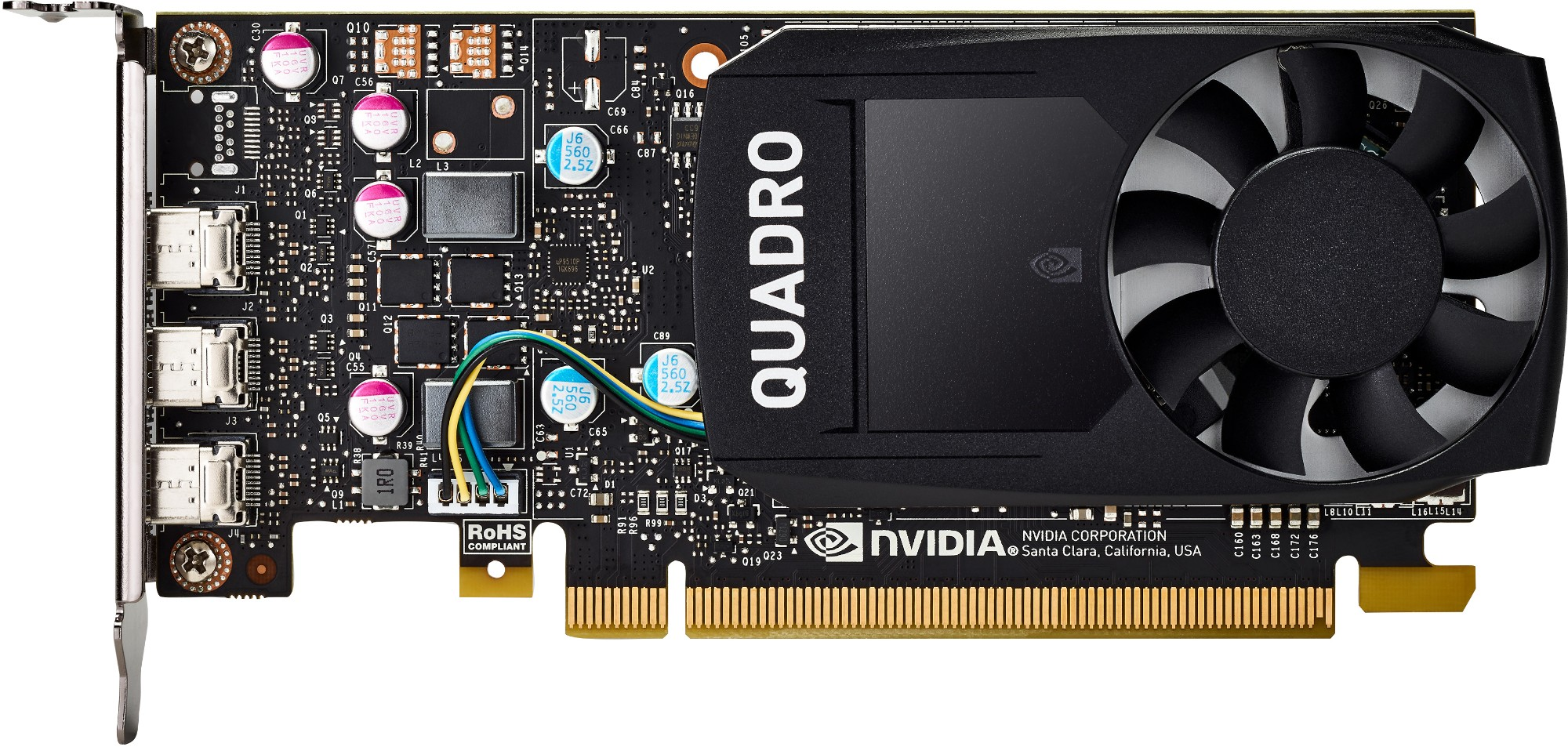 HP NVIDIA Quadro P400 2GB Graphics