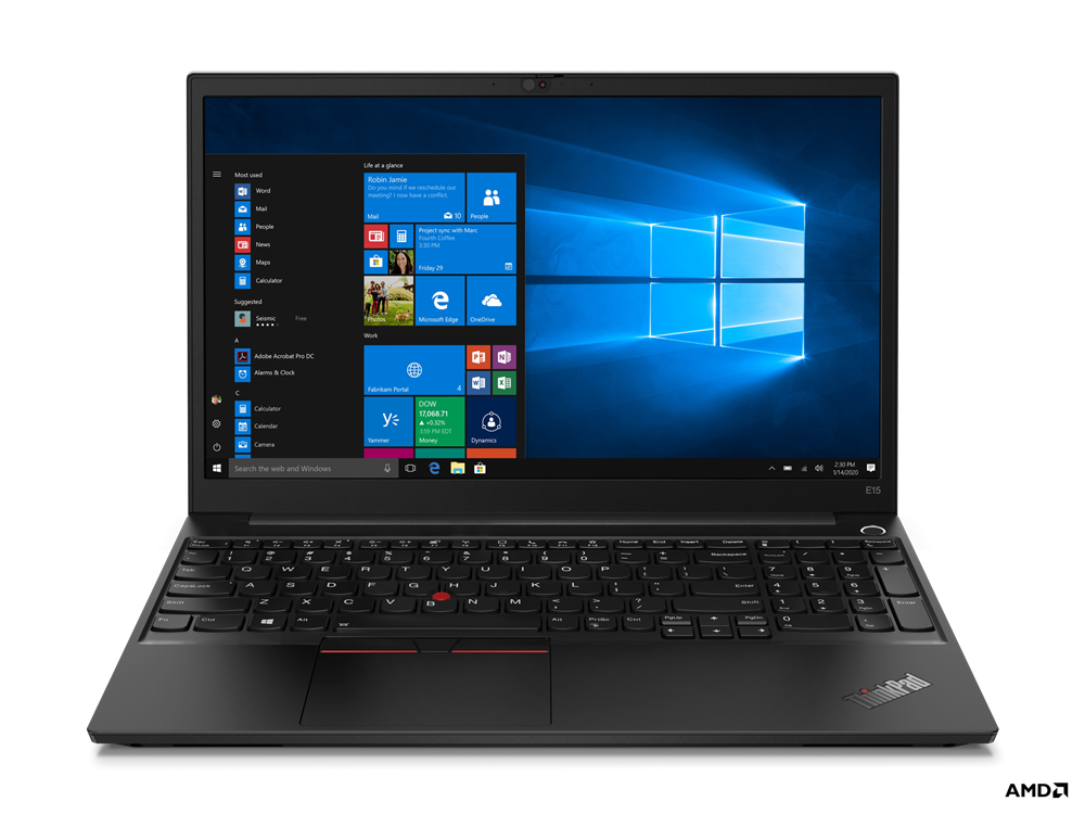 "Lenovo ThinkPad E15 Portátil Negro 39,6 cm (15.6"") 1920 x 1080 Pixeles AMD Ryzen 5 16 GB DDR4-SDRAM 512 GB SSD Wi-Fi 6 (802.11ax) Windows 10 Pro"