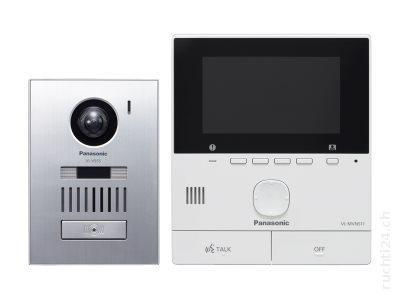 "Panasonic VL-SVN511EX 0.3MP 5"" Silver,White video intercom system"