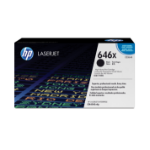 HP 646X Origineel Zwart 1 stuk(s)