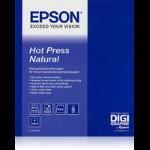 "Epson Hot Press Natural 17""x 15m"