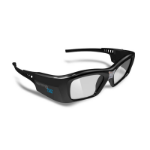 NEC VolfoniFit Black 1pc(s) stereoscopic 3D glasses