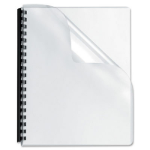 PHE BINDING COVERS A5 250GSM CLEAR PACK 200