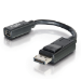 C2G 0.15m DisplayPort Male / Mini DisplayPort F
