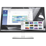 "HP E27q G4 68.6 cm (27"") 2560 x 1440 pixels Quad HD Black, Silver"