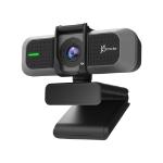 j5create JVU430 webcam 8 MP 3840 x 2160 pixels USB 2.0 Black, Silver