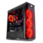 LC-Power Gaming 988B - Red Typhoon Midi Tower Black