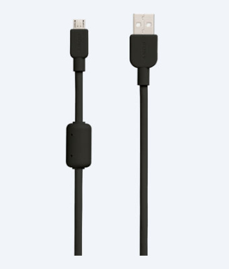 Sony CP-AB150 USB cable 1.5 m USB A Micro-USB B Black