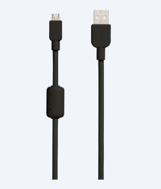 Sony CP-AB150 USB-kabel 1,5 m 2.0 USB A Micro-USB B Zwart