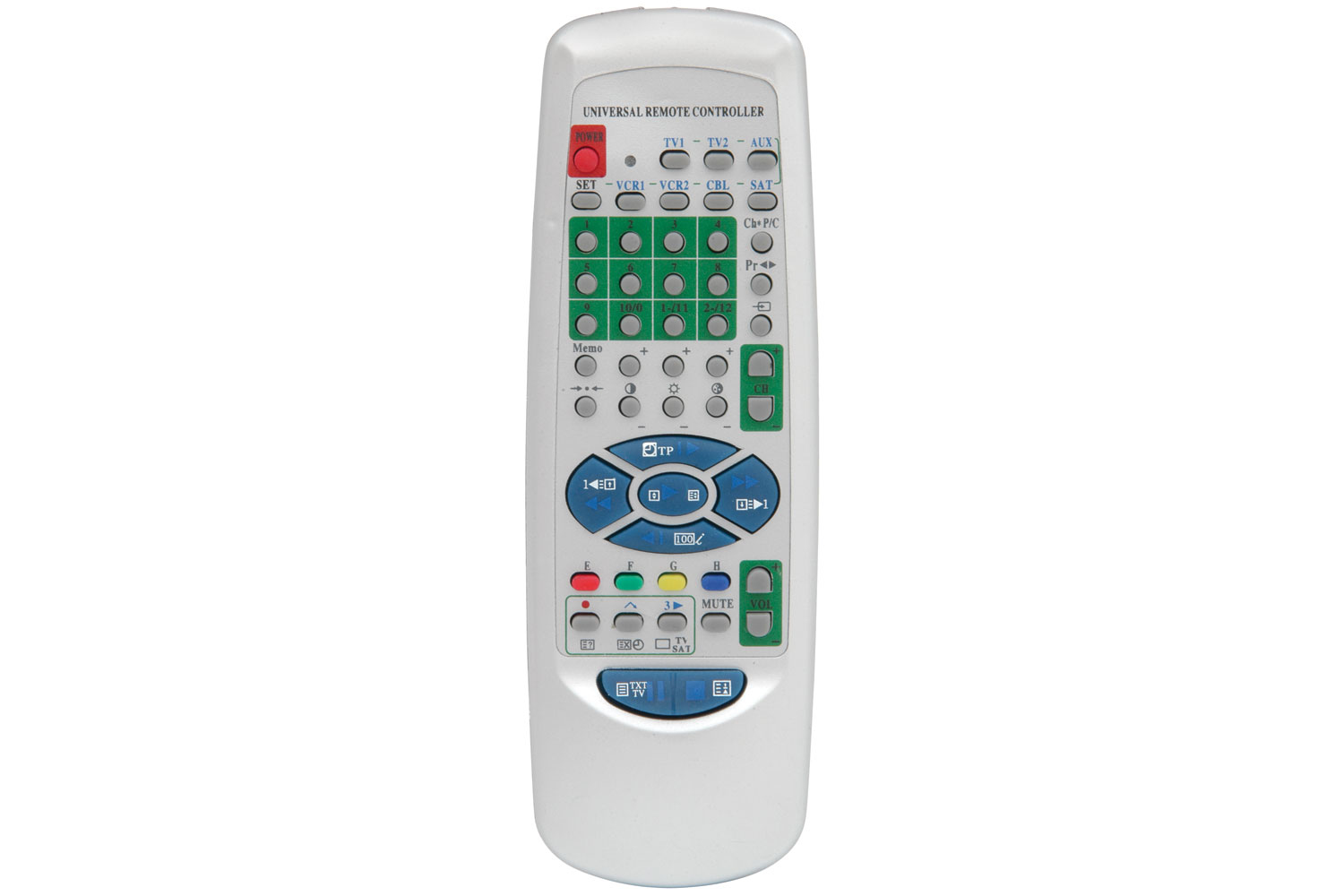 AV Link 149.503UK IR Wireless Press buttons Grey remote control