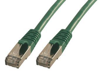 MCL FCC6ABM-1M/V cable de red Verde