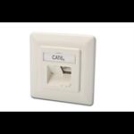 Digitus DN-9008-1 RJ-45 White socket-outlet