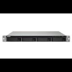 QNAP TS-453BU Ethernet LAN Rack (1U) Aluminium, Black NAS
