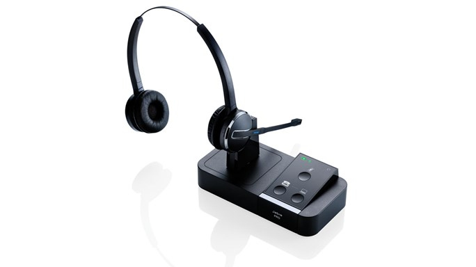 Jabra PRO 9450 Duo Monaural Head-band Black headset