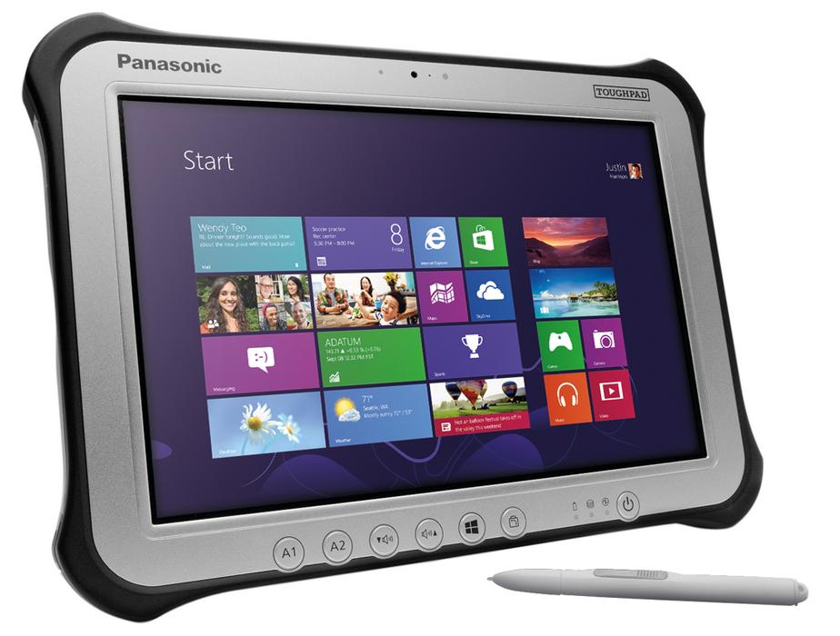 Panasonic Toughpad FZ-G1 mk4 128GB Black,Silver