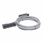APC 23ft Cat5e UTP, 6x RJ-45 - 6x RJ-45 cable de red 7 m U/UTP (UTP) Gris