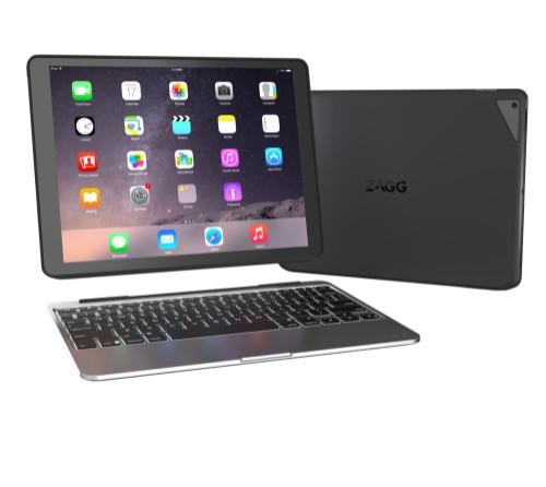 ZAGG slim book mobile device keyboard Black, Grey QWERTY US English Bluetooth