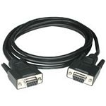 C2G 5m DB9 Cable serial cable Black