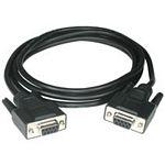 C2G 5m DB9 Cable cable de serie Negro