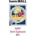 SonicWall Gway AntiVirus/Spyware + IPS 1 año(s)