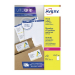 Avery L7167-500 self-adhesive label Rectangle Permanent White 500 pc(s)
