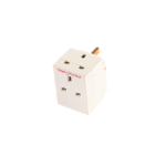 SMJ SW3FAD White power plug adapter