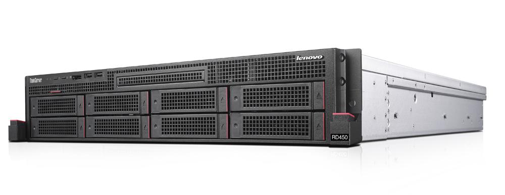 Lenovo ThinkServer RD450 1.7GHz E5-2609V4 450W Rack (2U) server