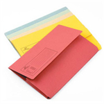 Q-CONNECT Q CONNECT DOCUMENT WALLET FC ASST PK50