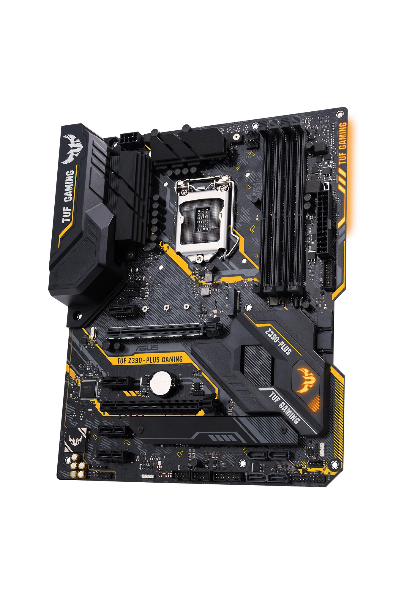 ASUS TUF Z390-PLUS GAMING moederbord LGA 1151 (Socket H4) ATX Intel Z390