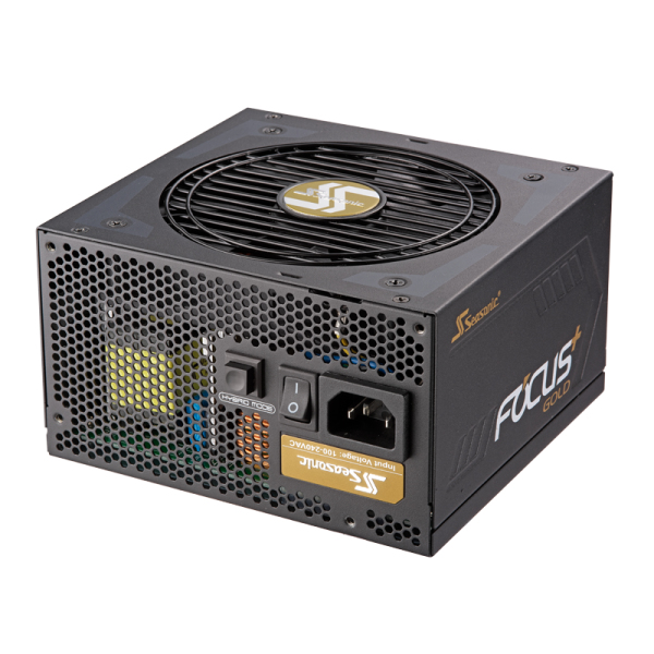 Seasonic FOCUS Plus 850 Gold power supply unit 850 W ATX Black