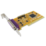 Sunix ParallelIEEE1284 Card 2-Port, PCI Interface, Win 7/8