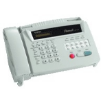 Brother FAX-515 fax machine Thermal 9.6 Kbit/s White