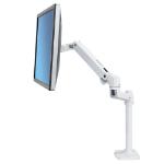 "Ergotron LX Series 45-537-216 32"" Clamp White flat panel desk mount"