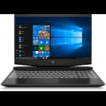 "HP Pavilion Gaming 15-dk1024na DDR4-SDRAM Notebook 39.6 cm (15.6"") 1920 x 1080 pixels 10th gen Intel® Core™ i5 16 GB 512 GB SSD NVIDIA GeForce RTX 2060 Max-Q Wi-Fi 5 (802.11ac) Windows 10 Home Black"
