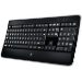 Logitech Wireless Illuminated Keyboard K800 teclado RF inalámbrico AZERTY Francés Negro