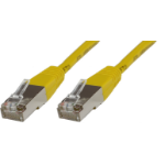 Microconnect B-SFTP6005Y 0.5m Cat6 S/FTP (S-STP) Yellow networking cable
