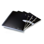 Livescribe A5 Single Subject Grid Notebook 4Pk. A5 sized notebooks with grid rule. Each single subject notebook