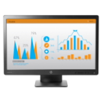 "HP ProDisplay P232 LED display 58.4 cm (23"") 1920 x 1080 pixels Full HD Black"