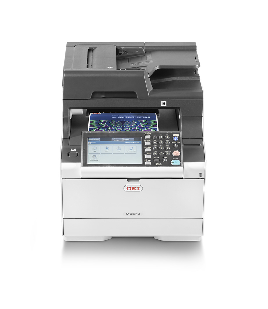 Mc573dn - Color Multifunction Printer - LED - A4 - USB / Ethernet