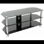 "AVF SDC1140CM-A 55"" Portable Black,Chrome flat panel floorstand"
