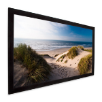 "Projecta HomeScreen Deluxe 72"" 16:9 projection screen"