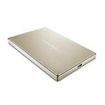LaCie Porsche Design Mobile Drive 2000GB Gold external hard drive