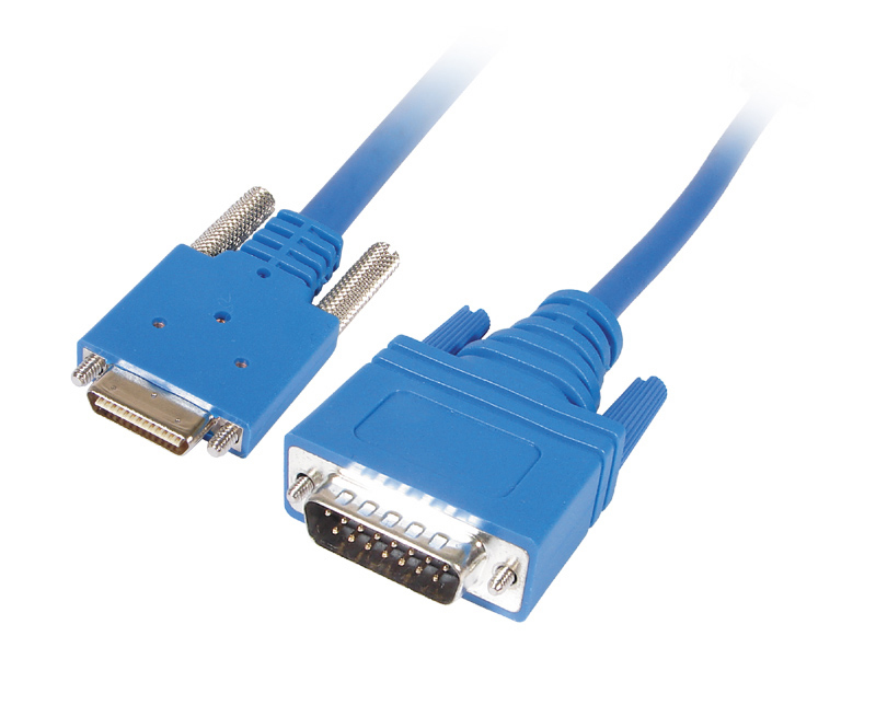 CABLENET 34 5107 SERIAL CABLE BLUE 3 M SS-X21 MT
