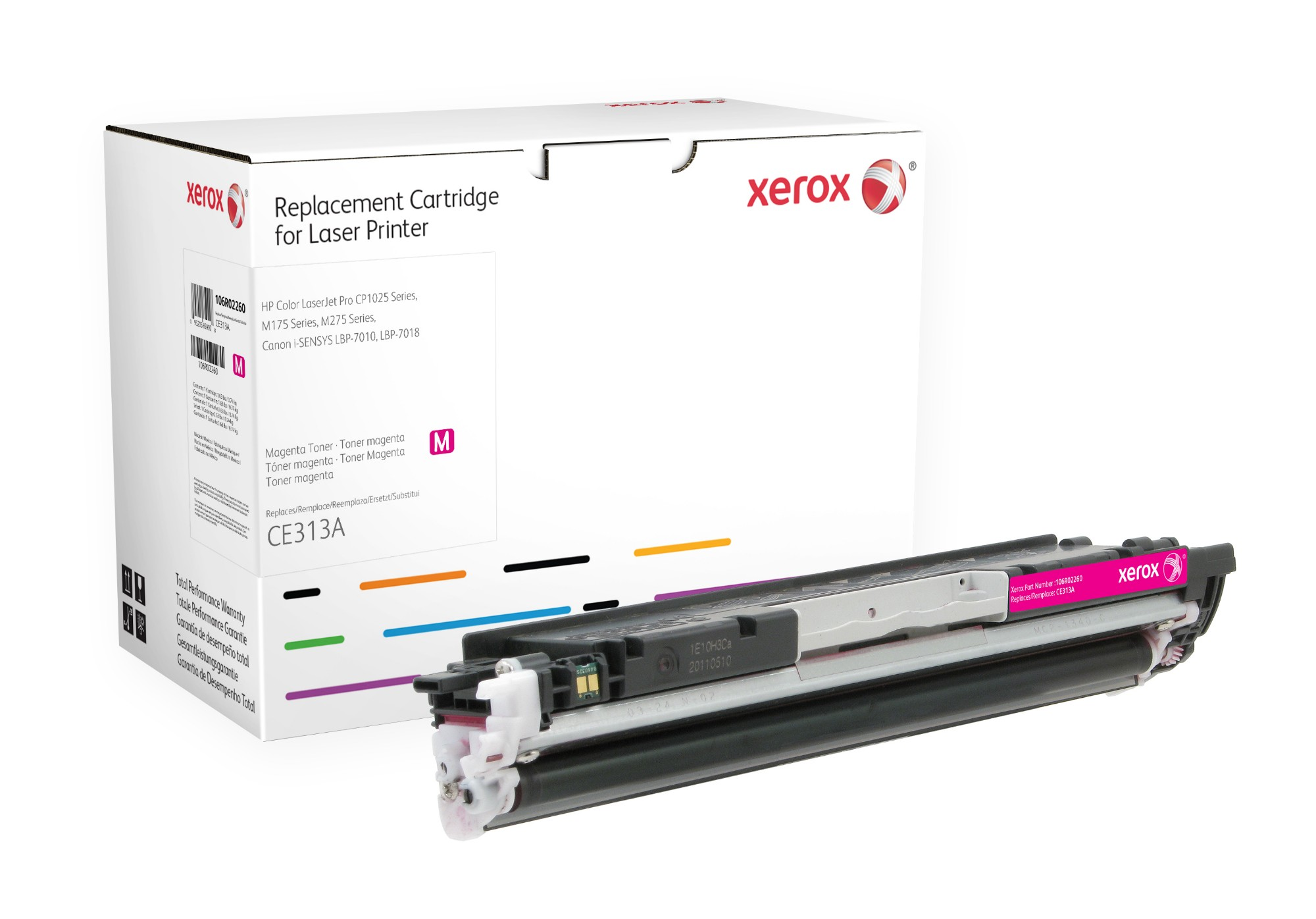 Xerox 106R02260 compatible Toner magenta, 1000 pages @ 5% coverage (replaces HP 126A)