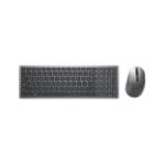 DELL KM7120W keyboard RF Wireless + Bluetooth QWERTY Italian Grey, Titanium