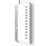Maclocks WALLIPAD8W Portable device management cabinet White