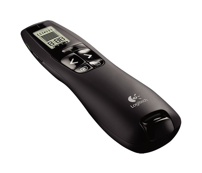 Logitech R700 RF Black wireless presenter