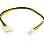 C2G 12in ATX Power Supply -> Pentium 4 Power Adapter Cable 0.3m Multicolor power cable