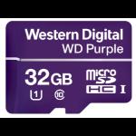 Western Digital Purple memory card 32 GB MicroSDHC Class 10