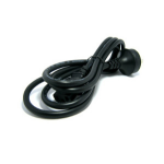 Hewlett Packard Enterprise JW140A Black power cable